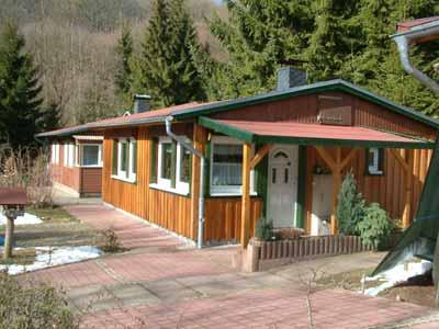 Ferienhaus Lausekuppe - Haus 1 grünes Paradies im thüringischem Südharz