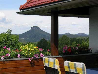 Haus Morgensonne im Elbsandsteingebirge