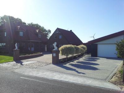 Ferienwohnungen Nordsee Pension Landhaus Deichblick